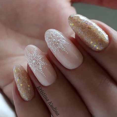 110 light color christmas snowflake coffin nails - page 21 ~ Modern House Design