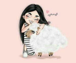 Pin By Mimi Mimita On Aid Eid Photos Girls Cartoon Art Girly M