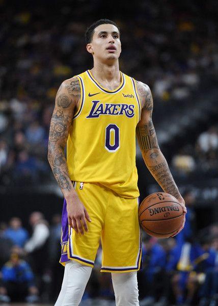 Kyle Kuzma Photos Photos Golden State Warriors Vs Los Angeles Lakers Kyle Kuzma Kyle Los Angeles Lakers
