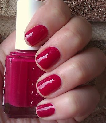 Essie S Plumberry A Creamy Berry Red With Hints Of Plush Pink Beauty In 2018 Pinterest Nails And Nail Polish