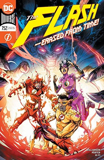 The Flash 2016 752 In 2020 The Flash Comics Joshua Williamson