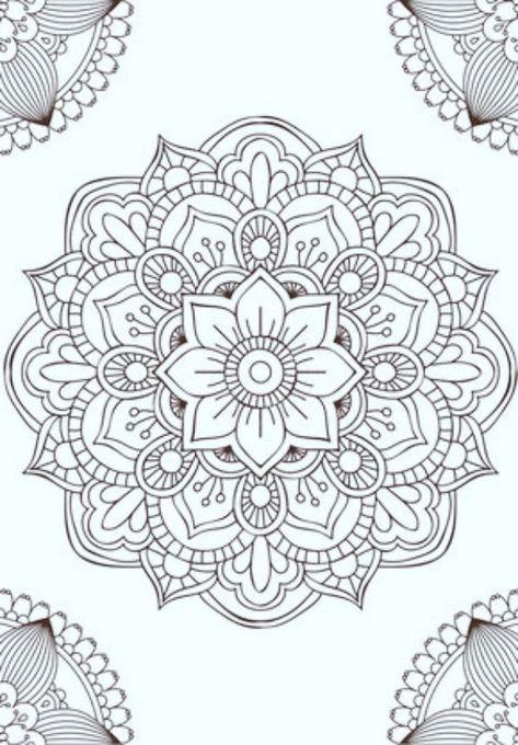 40 Printable Mandala Patterns for Many Uses