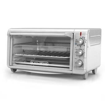 Countertop Convection Rotisserie Oven Toaster Stainless Steel