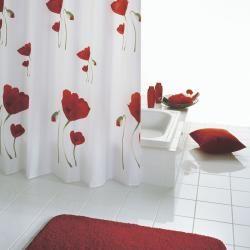 Textil Duschvorhange Schwarzer Duschvorhang Vorhange Modern Und