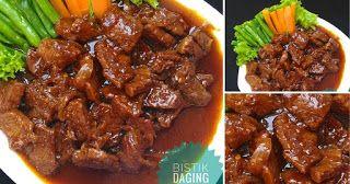Resep Bistik Daging Sapi Khas Solo Legit Mantap Rasanya Resep Spesial Resep Resep Masakan Daging