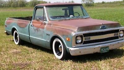 1970 Chevrolet C 10 C10 Patina Truck Rat Rod Shop Truck