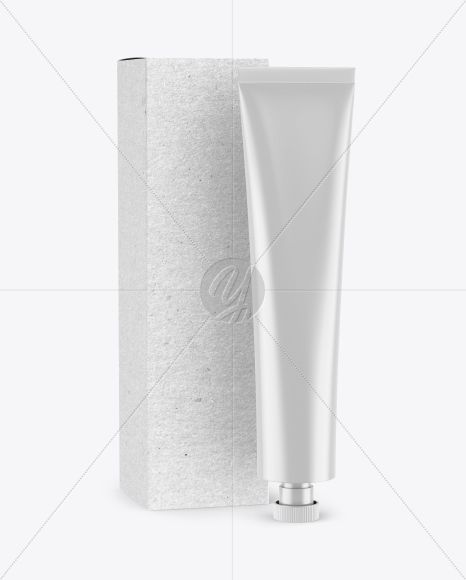 Download Matte Cosmetic Tube W Kraft Box Mockup Present Your Design On This Mockup Simple To Change The Color Of Dif Mockup Free Psd Box Mockup Free Packaging Mockup Yellowimages Mockups