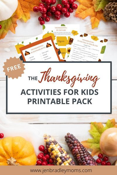 Thanksgiving Activities For Kids Free Printable In 2020 Thanksgiving Activities For Kids Thanksgiving Games For Kids Thanksgiving Fun