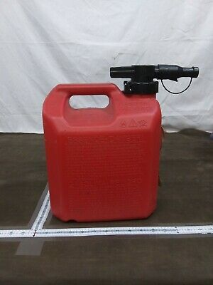 Easy Can Gasoline Fuel Gas Can Red 2 5 Gallon 10liters Ebay In 2020 Gas Cans Fuel Gas Fuel