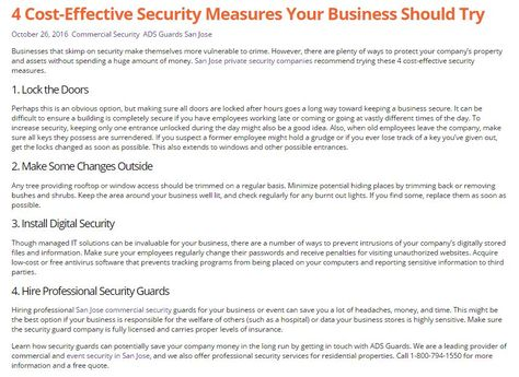 11 best Security Guard San Jose images on Pinterest Security - cargo ship security officer sample resume