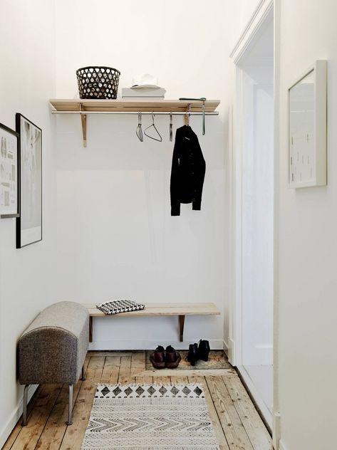 4 idées pour décorer une petite entrée | Deco, Idee deco ...