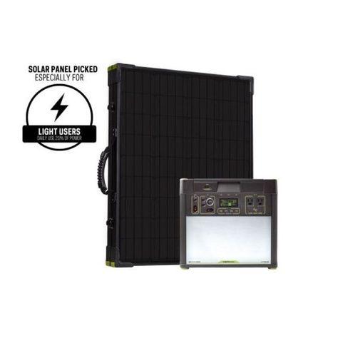 Goal Zero Yeti 3000 Lithium Boulder 200 Solar Panel Briefcase Kit Solar Panel Kits Solar Panels Solar Kit