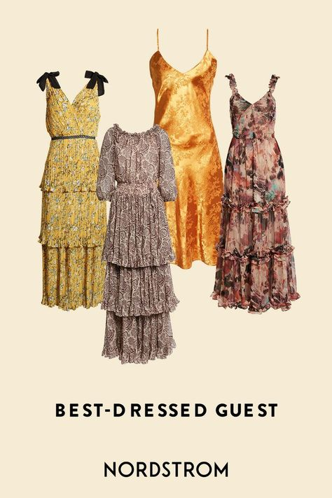Ready to be the best-dressed wedding guest? We've got you covered, with fresh hues and breezy silhouettes.