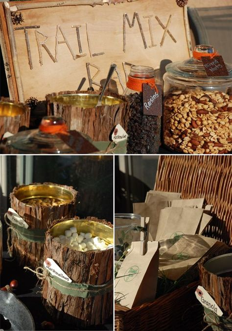 baby shower food ideas for camo hunter theme