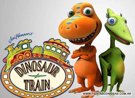 Invitacion De Cumpleanos De Dinotren Dinosaur Train Dibujos De La Infancia Tren Dinosaurio Recuerdos De La Infancia