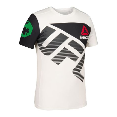 Reebok - Camiseta UFC Fight Kit Conor McGregor Walkout  8cfcd7ae481