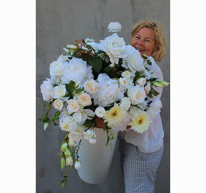 Kompozycje Kwiatowe Tendom Pl Crochet Hair Accessories Flowers Bouquet Flowers