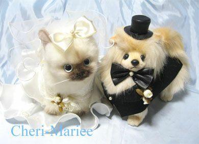 犬 猫 ペットのぬいぐるみ服 ドール衣装 ウェディングアイテム専門店 シェリーマリエ ヒマラヤン ポメラニアン ペット 猫