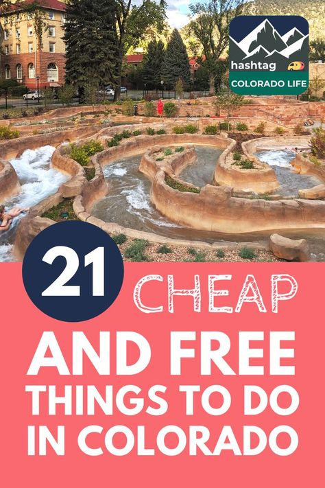 As a local, I have discovered insider tips for saving big on Colorado entertainment. Here are the top 21 cheap and free things to do in Colorado this week! Road Trip To Colorado, Visit Colorado, State Of Colorado, Colorado Springs, Skiing Colorado, Vacation In Colorado, Colorado In The Summer, Colorado Backpacking, Colorado National Parks