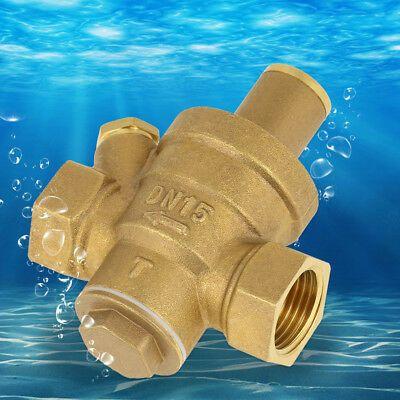 Ad Ebay Water Pressure Regulator Dn15 1 2 15mm Adjustable Brass Reducing Valve In 2020 Valve Plumbing Valves Relief Valve