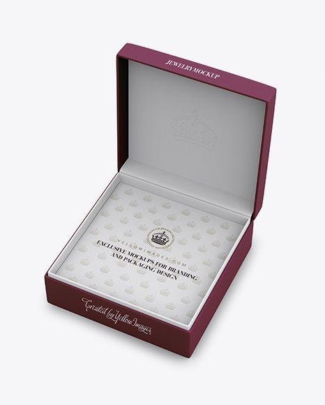 Download Luxury Jewellery Box Mockup Yellow Images