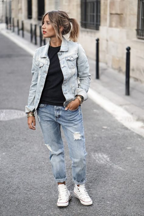 Long Over Due: Our Denim On Denim Trend File - Outfits And Ideas - Just The Design