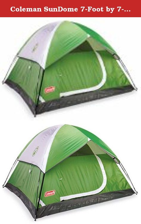 coleman sundome dome tent 4p review