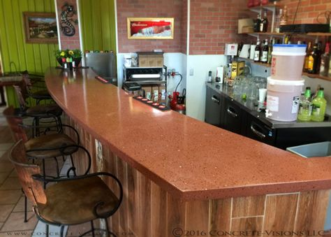 Concrete Visions Creates Beautiful Bartops For All