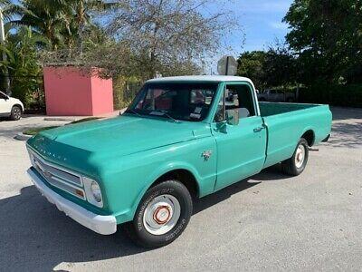 1967 Chevrolet C10 Pickup Truck Light Green Old 1960 S