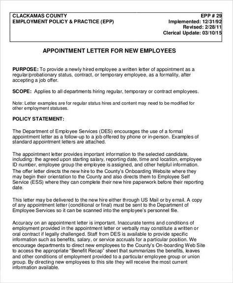 Follow Up Email After Job Offer Appointment Letters Free Word Pdf Documents Download Consultant .
