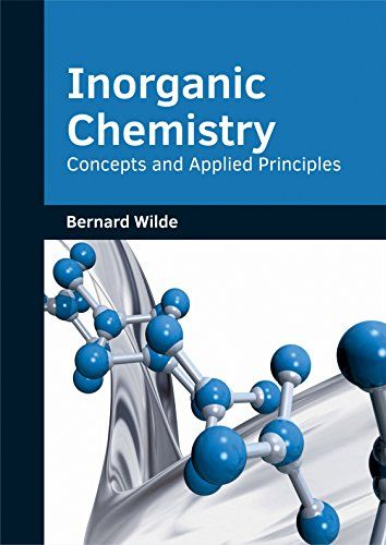 Inorganic Chemistry Concepts And Applied Principles By B Https Www Amazon Com Dp 1682853705 Ref Cm Sw R Pi Dp U X Chemistry Science Chemistry Principles