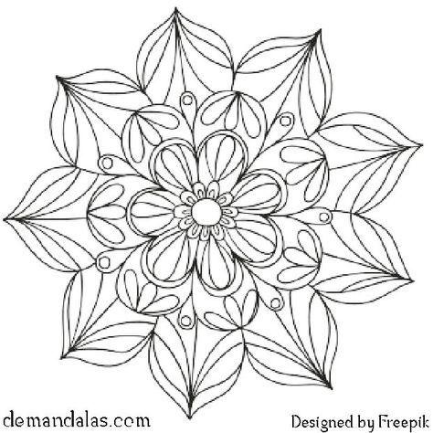 Mandalas Para Imprimir Y Colorear Descargar En Pdf E Imprimir