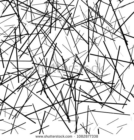 Asymmetrical Texture With Random Chaotic Lines Abstract