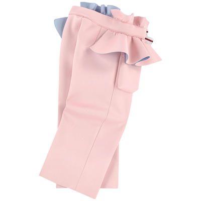 Fendi - Neoprene pants with flounces - 233366   Girl outfits, Girls pants,  Pants design