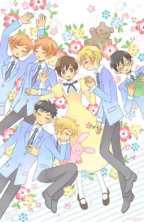 'Ouran High School Host Club – ZZz…' Poster by mojgon - Everything About Anime Colégio Ouran Host Club, Ouran Highschool Host Club, Host Club Anime, High School Host Club, Manga Anime, Got Anime, Anime Art, Cool Animes, Otaku