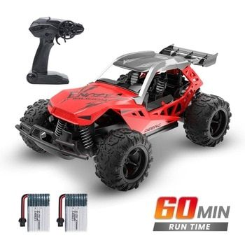 Deerc 1 22 Racing Rc Car Rock Crawler Radio Control Truck 60 Mins Play Time 20 Km H 2 4 Ghz Drift Buggy Toy Car F Toy Cars For Kids Rc Cars Remote Control Cars