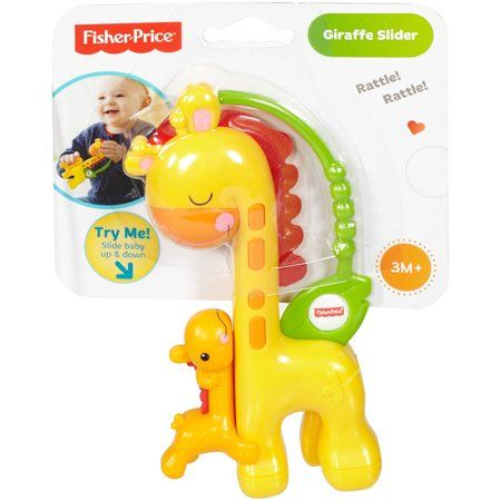 Fisher-Price საჩხარუნო ჟირაფი