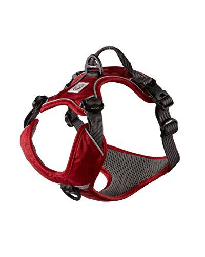 Dog Harness By My Busy Dog No Pull Easy On Off Front And Back Leash Attachments Handle Metal Strap Adjuster Dog Harness Dog Size Chart Dog Vest Harness