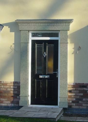 Resin Roofs is in the business of GRP Door Surrounds and