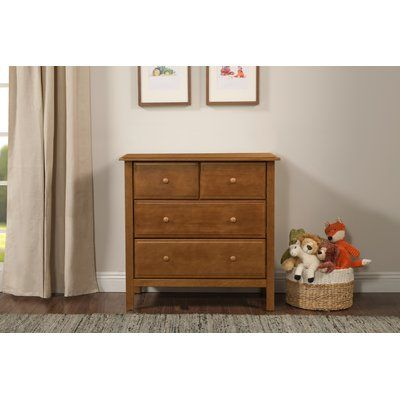 Davinci Autumn 4 Drawer Dresser Color Chestnut 4 Drawer Dresser