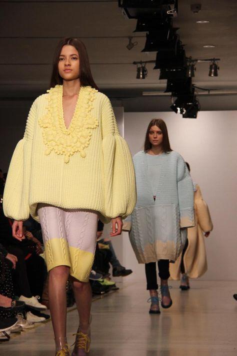 unpolished sapphire: Royal College of Art - MA Graduation Show 2013 Womenswear Xiao Li