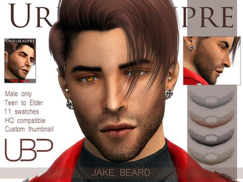 List of the sims 4 mods hairstyles facials pictures and the