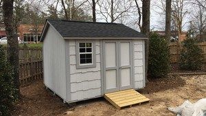 Bas Buildings Llc Is A Storage Sheds Building Company In Garner Nc We Build Viny Sheds Hardie Plank Sheds Wooden Sheds In Shed Builders Shed Wooden Sheds