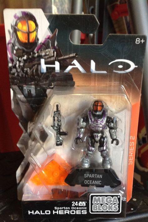 HALO Heroes Series 2 Mega Bloks new SPARTAN OCEANIC