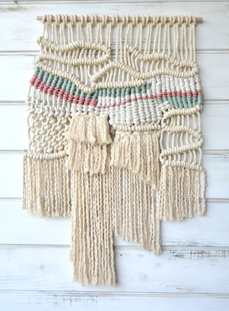 Ranran design Wall hanging ecofriendly cotton rope. Available online