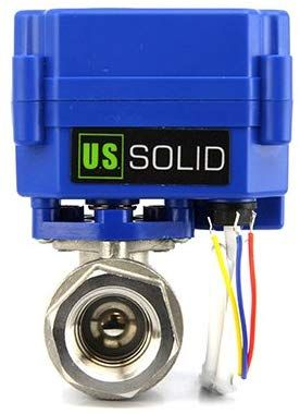 Motorized Ball Valve 1 2 Quot Stainless Steel Electrical Ball Valve With Full Port 9 24v Ac Dc And 3 Wire Setup By U S Solid