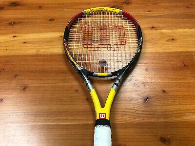 Wilson Pro Staff Surge X Preowned Tennis Racquet Grip Size In 2020 Tennis Racquets Tennis Racquet