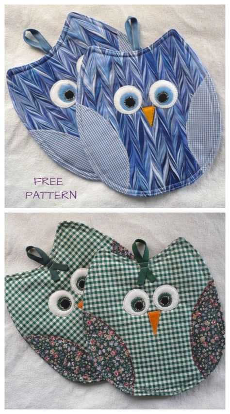 DIY Owl Potholder Free Sewing Patterns & Video Tutorials DIY Owl Potholder Free Sewing Patterns & Video Tutorials,Nähen DIY Owl Potholder Free Sewing Patterns & Video Tutorials Related posts:Tips and Tricks for Sewing Perfect. Small Sewing Projects, Sewing Projects For Beginners, Sewing Tutorials, Sewing Crafts, Video Tutorials, Sewing Tips, Sewing Hacks, Free Tutorials, Fabric Crafts