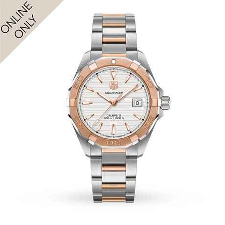 Mens Watches - TAG Heuer Aquaracer Mens Watch - WAY2150.BD0911 17381002