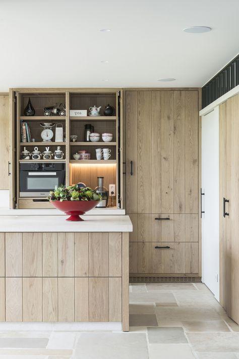 Spiksplinternieuw Moderne licht eiken keuken met traditionele accenten (met XH-38